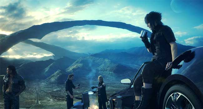 Final Fantasy XV, éblouissant
