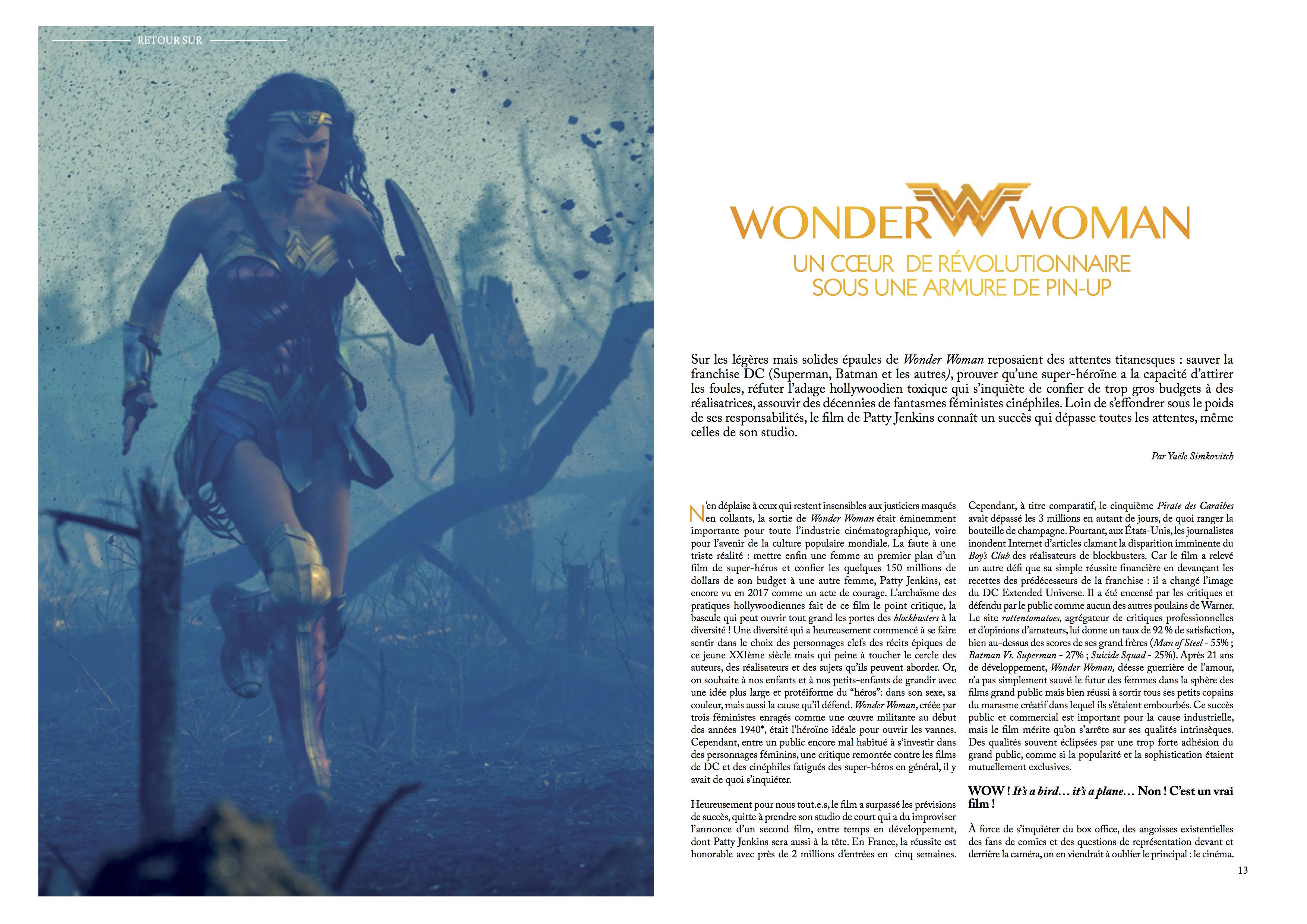 Wonder Woman Clap