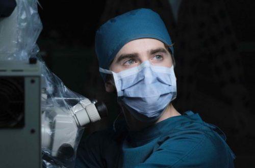 Dr Shaun Murphy en salle d'opération – © ABC