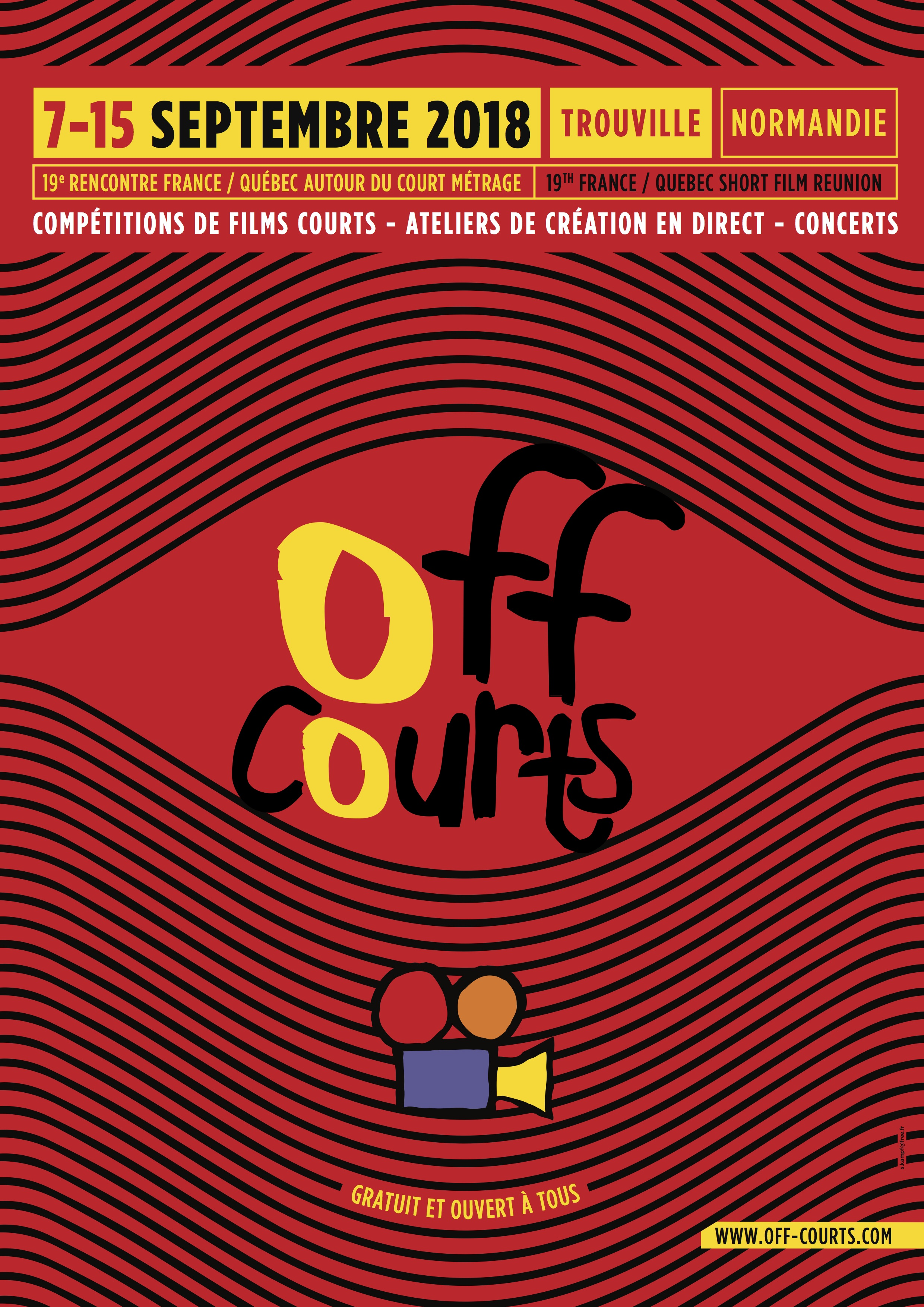 Affiche Off Courts 2018