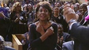 Maxine Waters- RIP Aretha